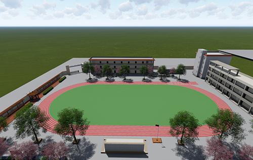 镇江完小体育馆设计规划