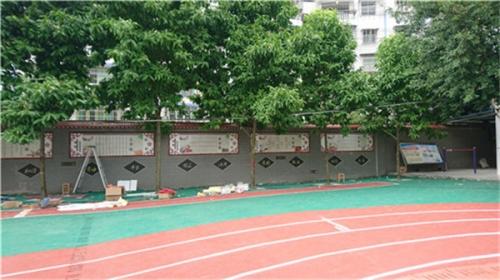 丰都县保合镇中心学校文化建设